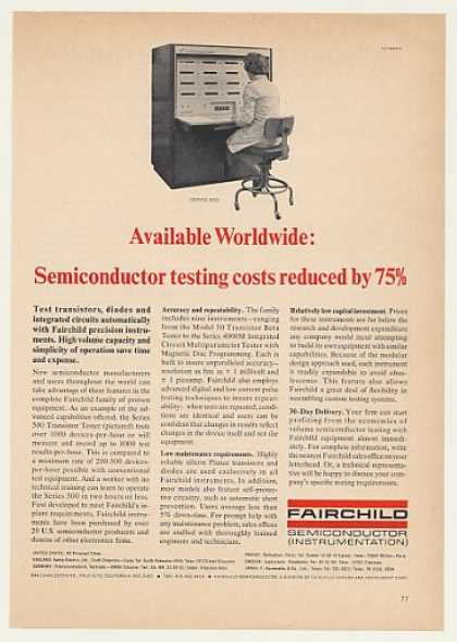 Fairchild Series 500 Transistor Tester (1964)