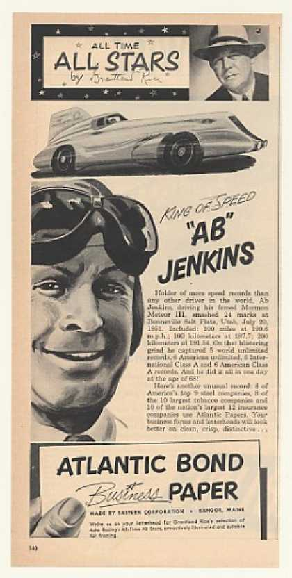 King of Speed Ab Jenkins Mormon Meteor III (1952)