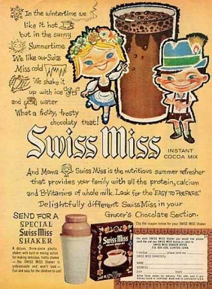 Swiss Miss Cocoa Mix (1963)