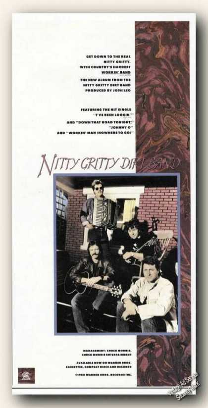 Nitty Gritty Dirt Band Photo Rare Music Promo (1988)