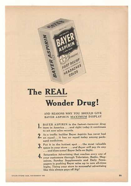 Bayer Aspirin The Real Wonder Drug (1956)