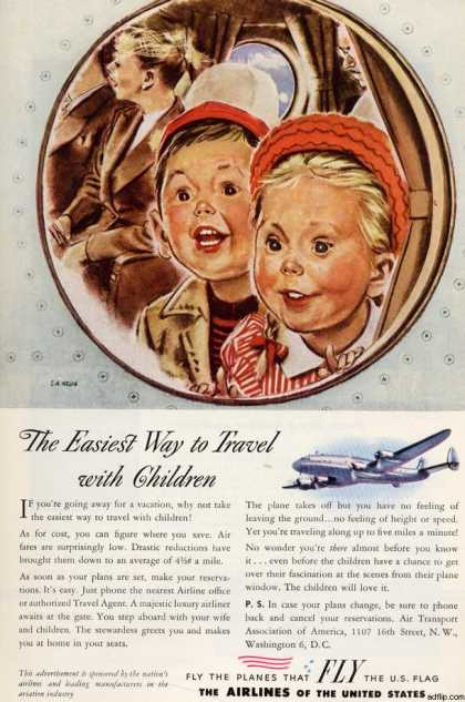 Airline Manufacturer's Airlines of the United States (1946)