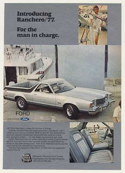Ford Ranchero GT For The Man in Charge (1977)