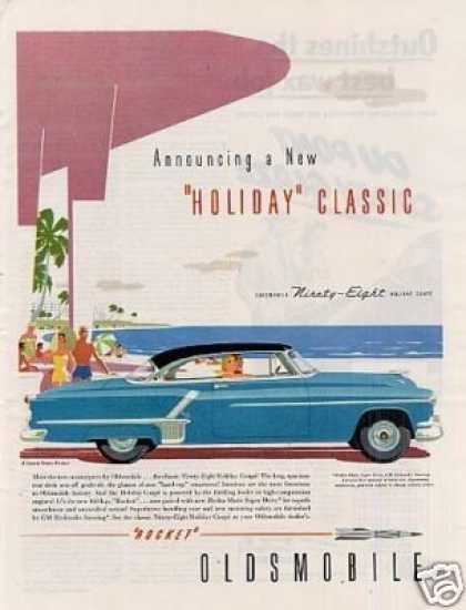 Oldsmobile Ninety-eight Holiday Coupe (1952)