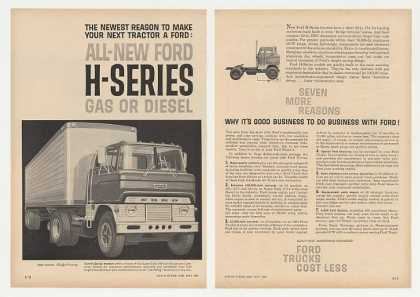 Ford H-Series Tractor Super Duty Truck (1961)