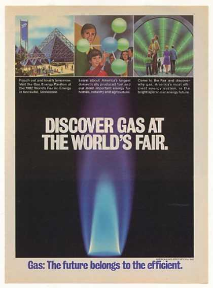 Gas Energy Pavilion World's Fair American Gas (1982)