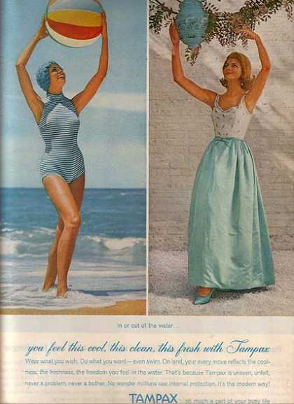 Tampax's Women's products (1962)