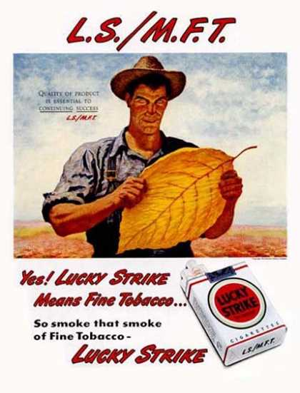 Lucky Strike – James Chapin (1947)