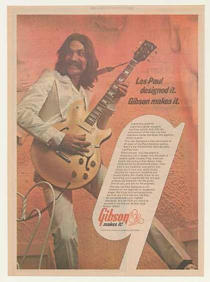 Gibson Les Paul Signature Guitar (1974)