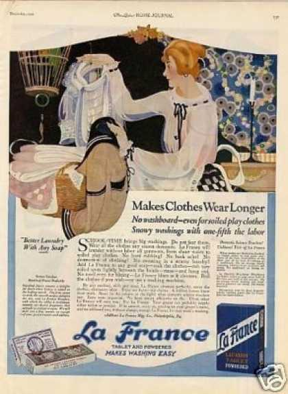 La France Soap Detergent Color (1921)