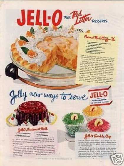 "Jello Ad ""Jolly New Ways... (1950)"