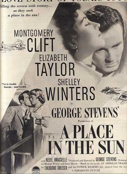 A Place In The Sun (An American Tragedy) (1951)