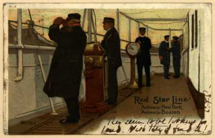 Red Star Line's Ship Travel – Red Start Line (1908)