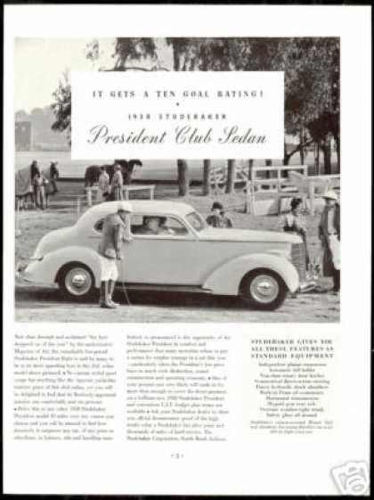 Studebaker President Club Sedan Photo Car (1938)
