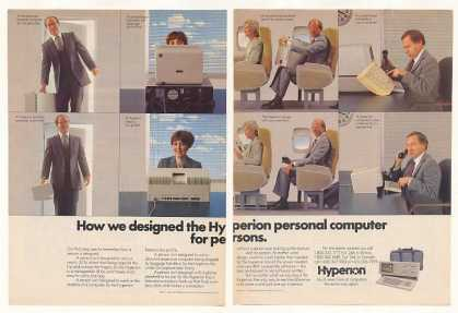 Hyperion Personal Computer Designed Persons 2-P (1984)