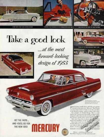 Mercury Photos Most Forward-looking Design Car (1953)