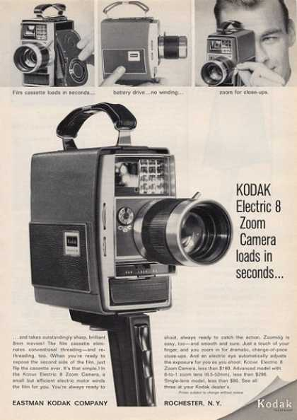 Kodak Electric 8 Zoom Camera (1964)