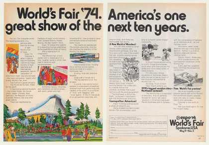 Expo '74 World's Fair Spokane WA (1974)