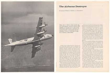 US Navy Lockheed P-3C Orion Aircraft 9-Pg Article (1974)