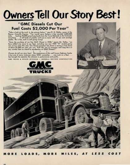 Gmc Trucks Owners Story Armarillo Express (1950)