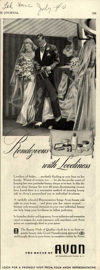 Avon – Rendezvous with Loveliness (1940)