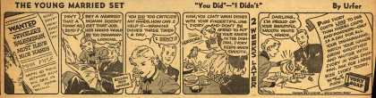 "Procter & Gamble Co.'s Ivory Soap – The Young Married Set ""You Did"" – ""I Didn't"" (1937)"