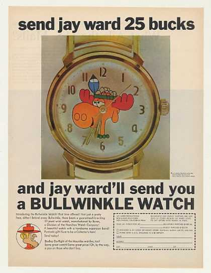 Jay Ward Productions Bullwinkle Watch (1969)