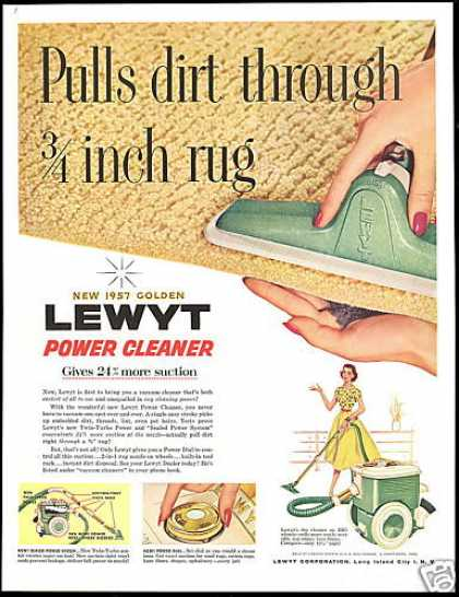 Lewyt Power Vacuum Cleaner (1956)