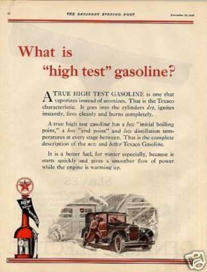 Texaco Color Ad 2 Page (1926)