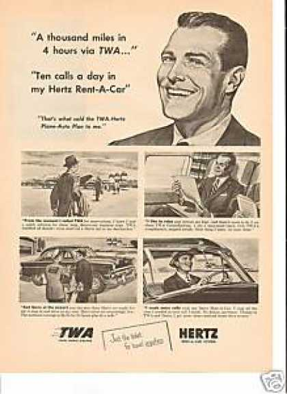 Hertz Rent a Car Twa (1954)