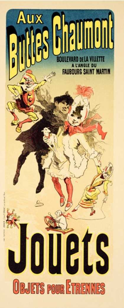 "Reproduction of a Poster Advertising the Toyshop ""Aux Buttes Chaumont"""