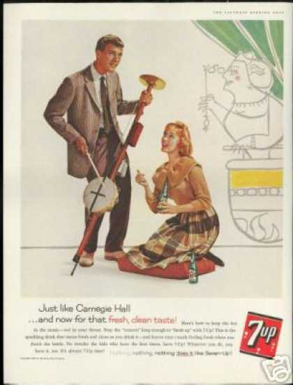 Carnegie Hall Hot Music 7-up 7up Seven up (1960)