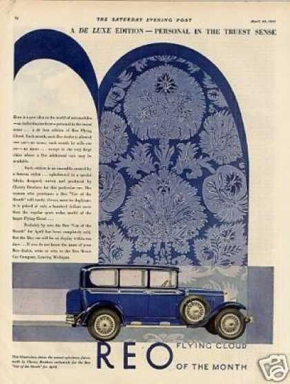 Reo Flying Cloud Car Color (1929)