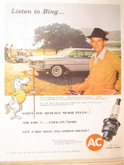 AC Spark Plugs Bing Crosby Golf Theme (1959)