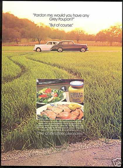 Grey Poupon Mustard Pardon Me Photo (1985)
