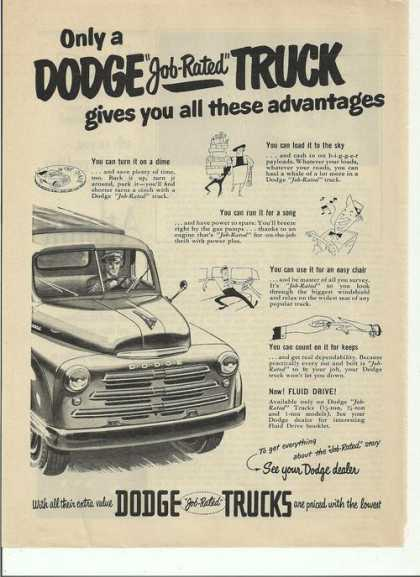 Only a Dodge Job Rated Truck (1950)