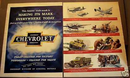 Chevrolet Military Engines World War Ii (1945)