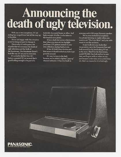 Panasonic Starstream TR-205 Portable TV (1967)