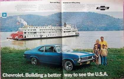 Chevrolet Nova Family Delta Queen River Boat (1972)