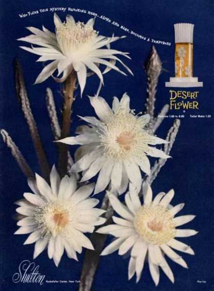 Desert Flower Perfume Bottle (1949)