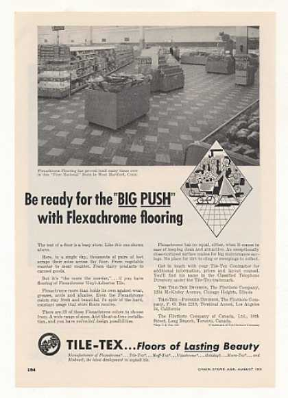 First National Store CT Tile-Tex Vinyl Asbestos (1955)