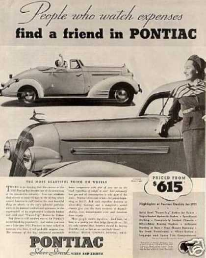 Pontiac Convertible Car (1935)