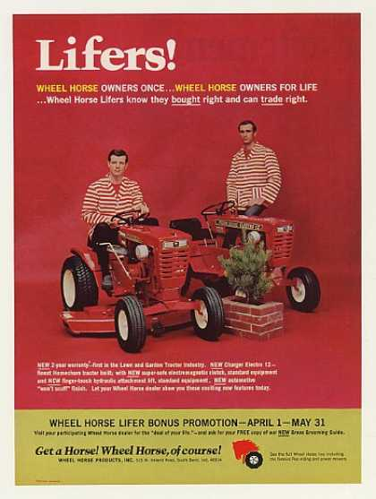 Wheel Horse Lawn and Garden Tractors Lifers (1968)