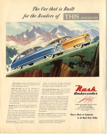 Nash Ambassador Fortune Cover Coal Mining (1950)
