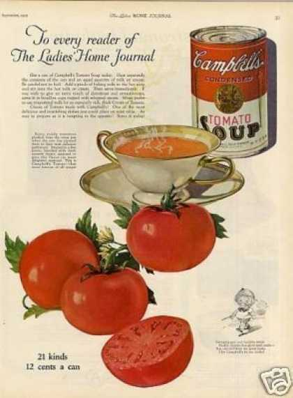 Campbell's Tomato Soup (1923)