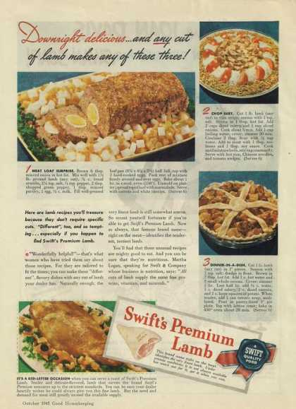 Swifts Premium Lamb (1945)
