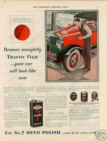 Dupont Duco Polish Color (1929)