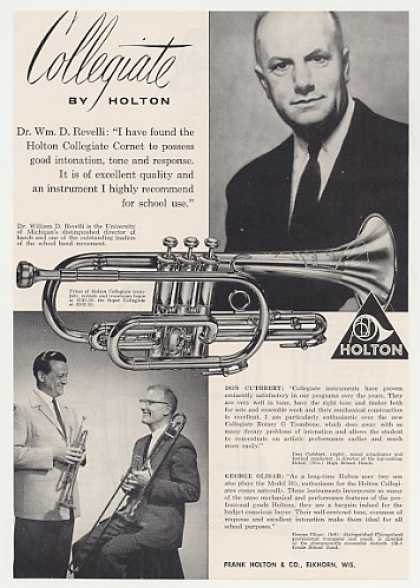 Dr William D Revelli Holton Collegiate Cornet (1963)