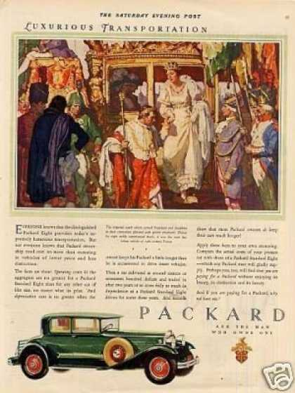 Packard Eight Car Color (1930)