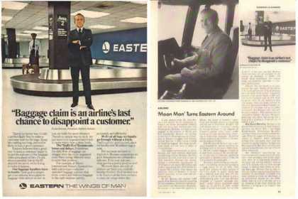 Eastern Air Lines Article and 1976 – Frank Borman (1977)